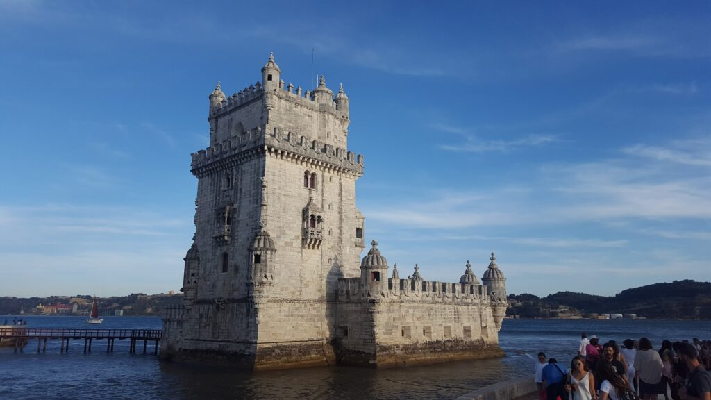 A picture of Belem tower, Portugal