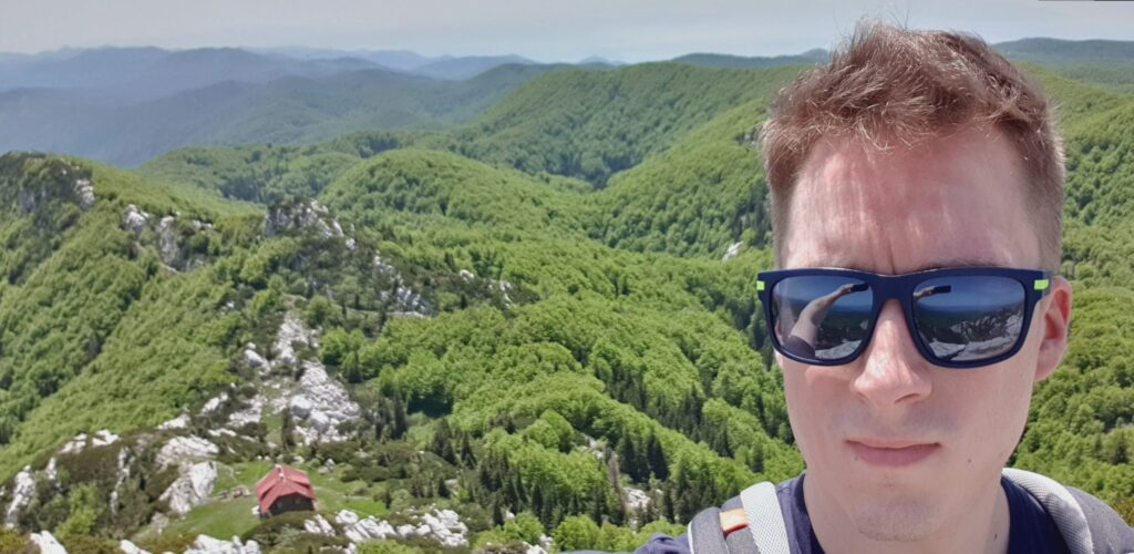 Selfie at Risnjak national park